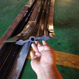 平蹼型钢边橡胶止水带西安地铁9号线车站防水用止水带