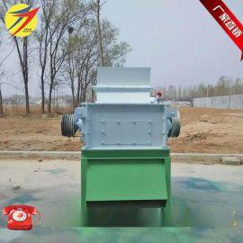 浙江贸易公司出口对辊破碎机国外使用鸡饲料颗粒破碎机对辊破碎机