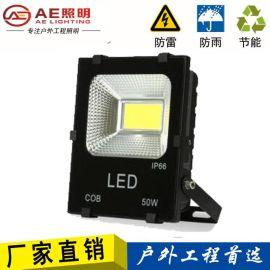 AE照明 LED投光灯户外防水投光灯广告灯招牌泛光灯投射灯室外灯