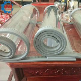 透明软门帘磁性自吸力强 磁吸门帘成品半成品生产厂家 磁吸软门帘