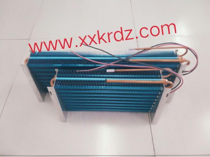 带化霜丝的翅片蒸发器冷凝器换热器河南科瑞
