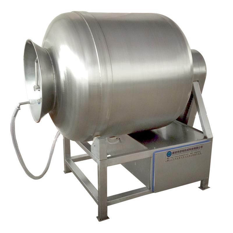 GR600L奥尔良风味鸡翅中腌制入味设备 德州扒鸡变频真空滚揉机