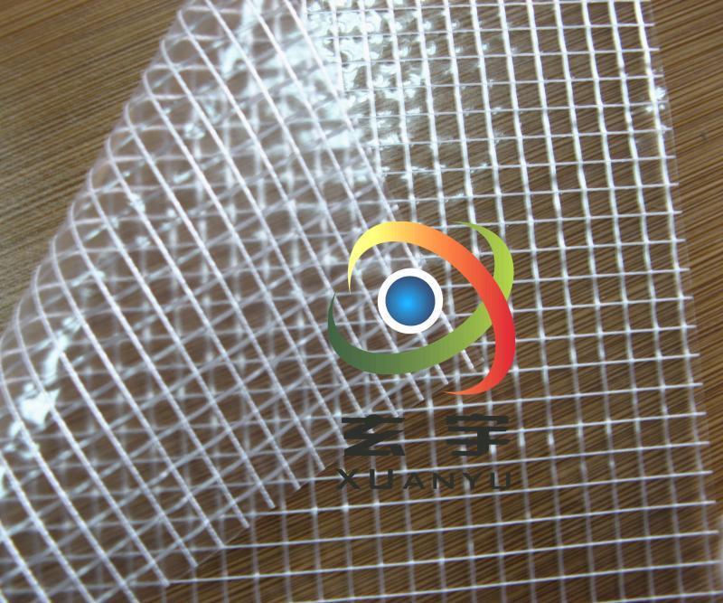 1000D大网格透明夹网,网格布
