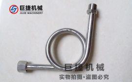 温州厂家生产焊接表弯定做90度不锈钢压力表弯管浙江不锈钢表弯