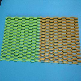 外牆裝飾鋁板網 菱形孔氟碳烤漆 裝飾鋁板網