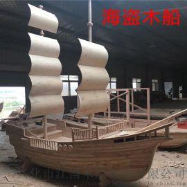 手工定制室内外景观装饰餐饮海盗吧台船