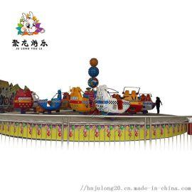 公园游玩新型游乐设备霹雳转盘厂家定做