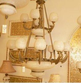 西班牙进口,云石灯,欧式别墅客厅书房饭厅灯具