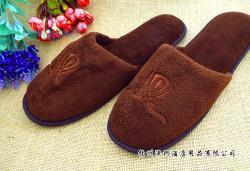 酒店拖鞋 珊瑚绒拖鞋 超五星级酒店使用 点塑布鞋底 居家可穿1月