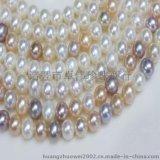 卓伟珍珠 珍珠项链 8mm近圆 项链 饰品批发 150418