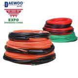 韓國大宇Daewoo發熱電纜原裝進口雙導無輻射加熱線電熱地暖安裝