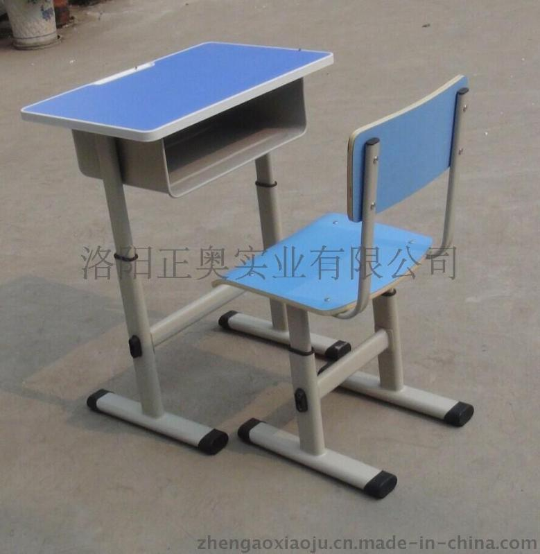 洛阳正奥学生课桌椅套装 **双人课桌凳批发定制