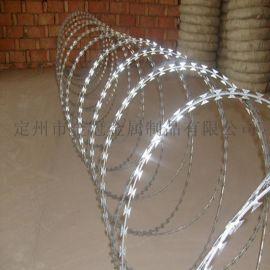 定州金冠 优质刀片刺绳 刀片刺网 安全防护刀片刺绳