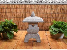 青石仿古韩式小石灯  公园装饰石雕