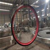 转鼓造粒机大齿轮托轮配件报价铸钢分体结构
