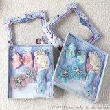 直銷套裝兒童梳子公主蝴蝶結發束禮品套裝現貨