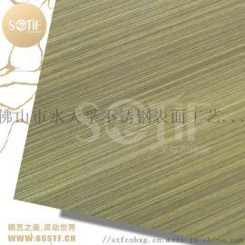 304彩色镜面不锈钢装饰板 黄钛金镜面不锈钢装饰板