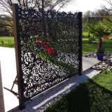 艺术造型镂空铝单板定制 个性雕花镂空铝单板图案说明