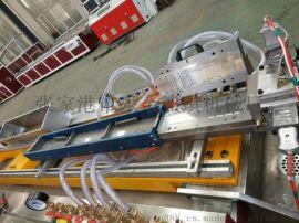 pvc异型材生产线 护墙板生产线