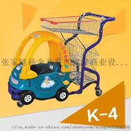 供应**王款超市卡通童趣购物车