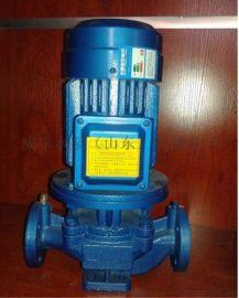 ISG立式管道离心泵管道循环增压水泵