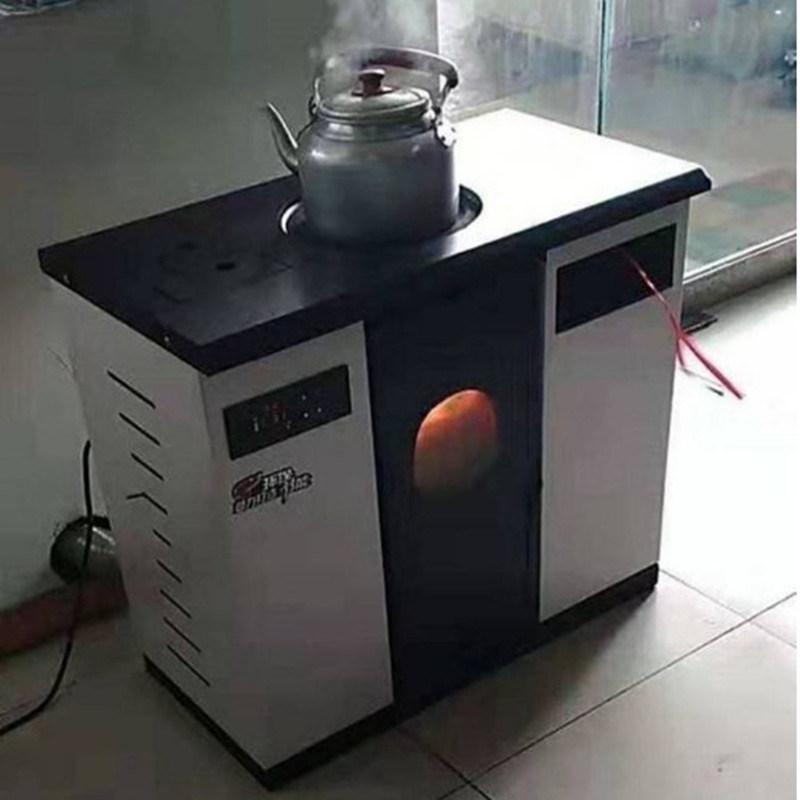 生物质颗粒取暖炉水暖炉 家用取暖炉采暖炉厂家