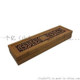 工厂直销创意竹木钢笔包装盒 钢笔竹制礼品盒