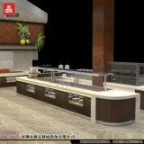 供应特色餐厅设计装潢 自助餐台设计制作