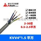 海路通线缆控制电缆kvvrvv2x1.0