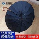 專業定製出口外貿傘、出口日本16骨直杆晴雨傘