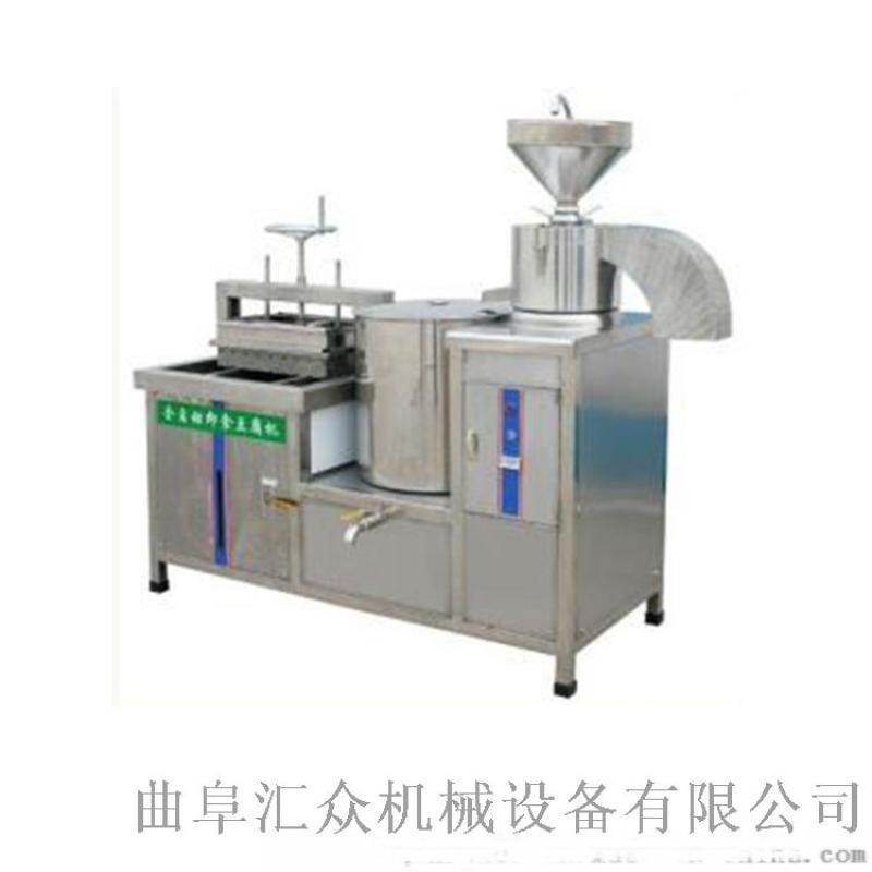 仿手工豆腐机 山东生产豆腐的机器 利之健食品 内脂