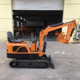 轮式抓料机 挖沟植树小型挖掘机 都用机械大棚用开沟