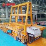 儲運設備地軌平板車|轉盤電動轉彎車