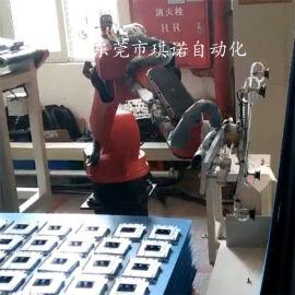 五金六关节自动化捡料分料机械手 自动化换爪机器人