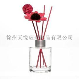 房間裝飾瓶140毫升空氣清新劑瓶玻璃香薰油瓶