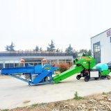 玉米秸稈青貯打捆機,青貯飼料發酵包膜機