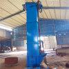 6米高塑料斗帶式提升機Lj8鄭州垂直鋼鬥環鏈提升機