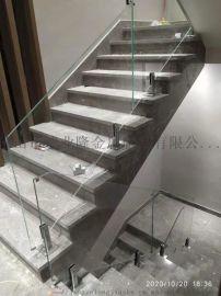 简约型玻璃楼梯扶手