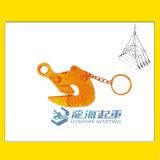 EP型管钩夹, 手动锁定型, 钢管吊装用1吨