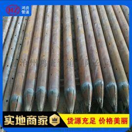 生产厂家现货 注浆钢花管棚导管 胶圈 隧道加固