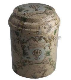 凸盖金属罐 马口铁圆形罐定制 茶叶礼盒套装