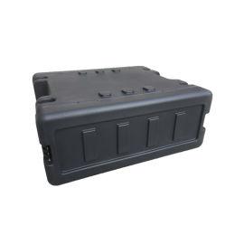 三军行4U简易机架箱  19英寸航空机架箱