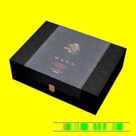 大同海鲜礼品箱定制 西洋参盒子加工制作