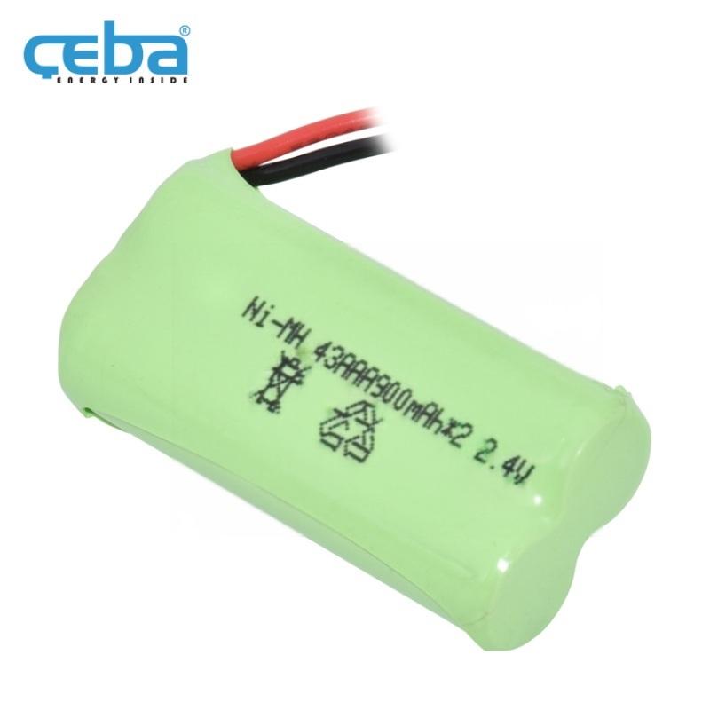 1x2AAA电芯镍氢电池组2.4V电动牙刷镍电芯
