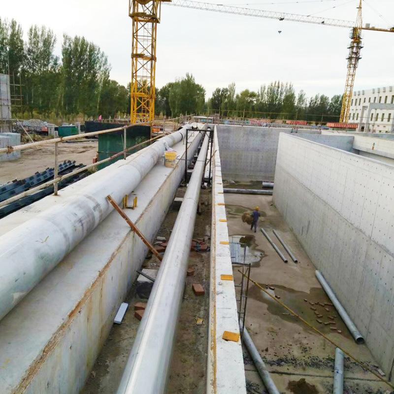 黃岡市污水處理廠污泥濃縮池防漏水堵漏處理