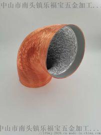 双层加厚厨房油烟机排烟管铝箔伸缩排气软管