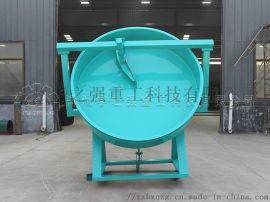 有机肥生产使用的圆盘造粒机