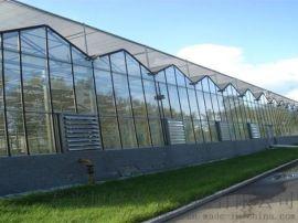 玻璃温室-智能玻璃温室 连栋纹络温室_蔬菜大棚