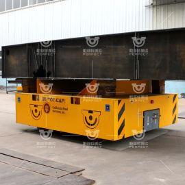 煤矿设备无轨搬运平板车 拖车物流搬运设备电动轨道车