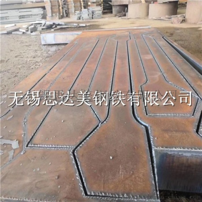 42crmo钢板下料,钢板切割,厚板切割牌坊件